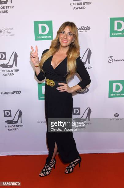Guelcan Kamps attends the Deichmann Shoe Step of the year award at Curio Haus on May 16 2017 in Hamburg Germany