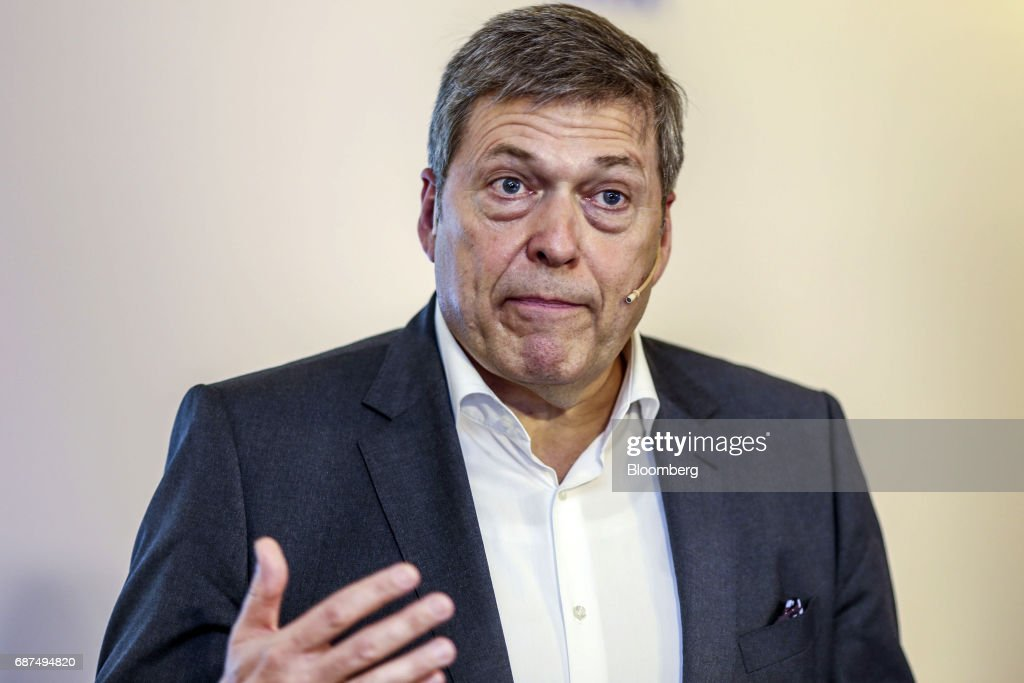 Tata Motors CEO Guenter Butschek Attends Earnings New Conference