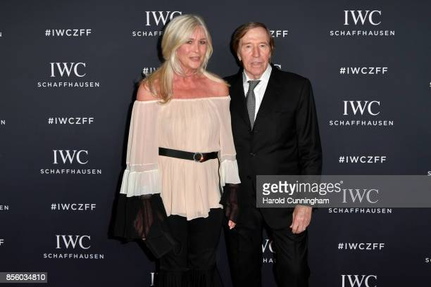 Guenter Netzer and his wife Elvira Netzer attend the IWC 'For the Love of Cinema' Gala Dinner at AURA Zurich on 30 September 2017 in Zurich...