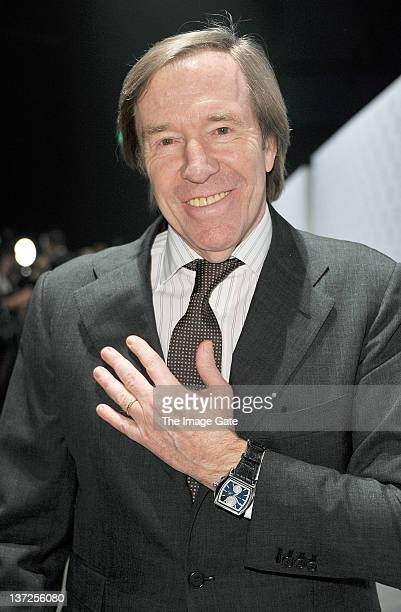 Guenter Netzer attends the IWC Schaffhausen Top Gun Gala Event during the 22nd SIHH High Jewellery Fair at the Palexpo Exhibition Hall on January 17...