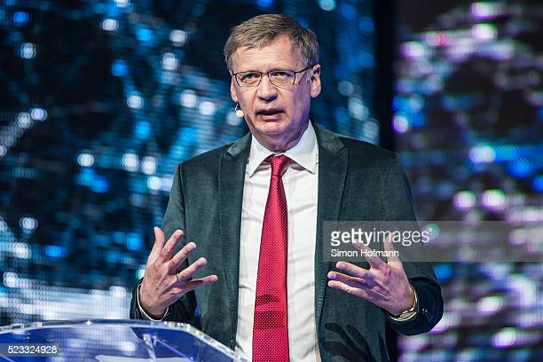 Guenther Jauch attends the Radio Regenbogen Award 2016 at Europapark on April 22 2016 in Rust Germany
