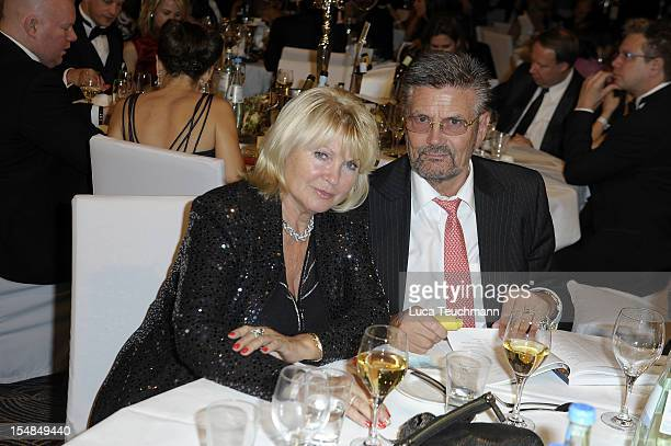 Guenther Klum and Erna Klum attends the 21th UNESCO charity gala at Maritim Hotel on October 27 2012 in Duesseldorf Germany