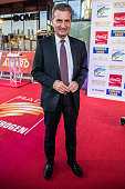 Guenther Oettinger attends the Radio Regebenbogen Award Show 2015 at Europapark on April 24 2015 in Rust Germany