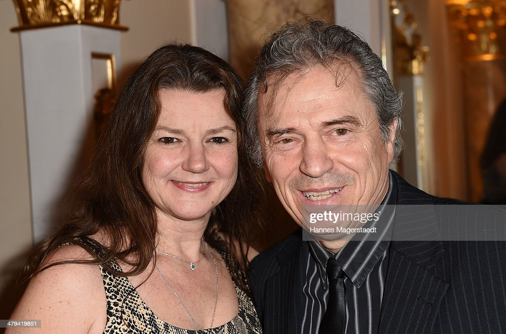 Guenther Sigl and his wife Doris Sigl attend the Peter Kraus 75th Birthday ...