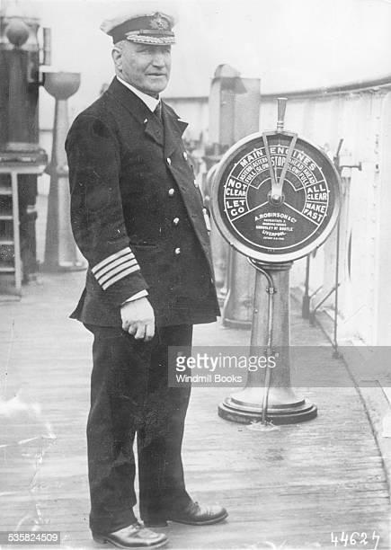 Guerre 19141918 Captain Turner ''Lusitania''