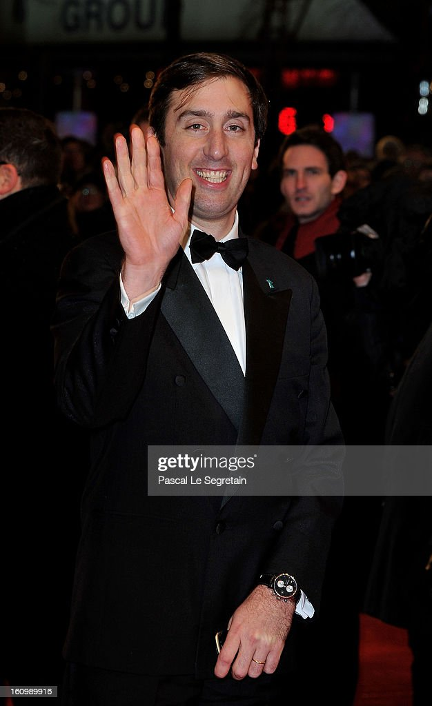 Guerric de Beauregard attends 'Promised Land' Premiere during the 63rd Berlinale International Film Festival at Berlinale Palast on February 8, 2013 in Berlin, Germany.