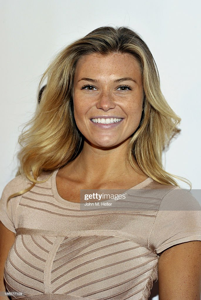 Guess Jeans model Samantha Hoopes attends Genlux Magazine's Hosting of Photographer Gilles Bensimon's portraits at the Sofitel Hotel on October 29, 2013 in Los Angeles, California.
