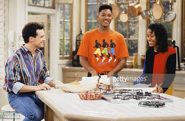 AIR 'Guess Who's Coming to Marry' Episode 6 Pictured Diedrich Bader as Frank Schaeffer Will Smith as William 'Will' Smith Vernee WatsonJohnson as...