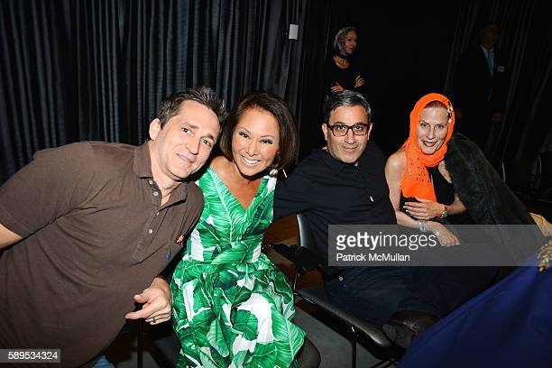 Guest Alina Cho Jason Weinberg and Anne Bendel attend The Maysles Documentary Center Parrish Art Museum Hamptons International Film Festival Present...