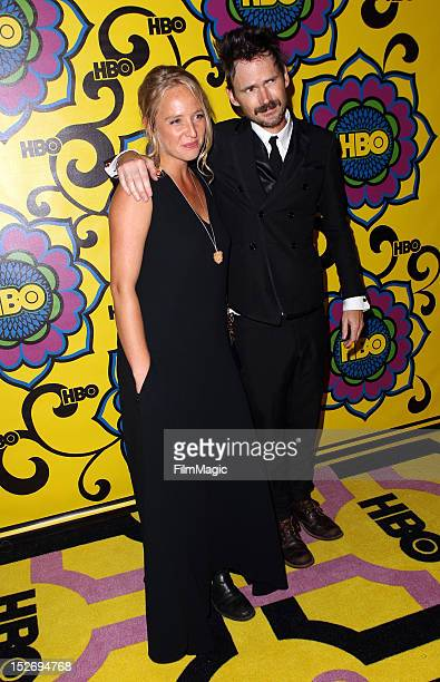 Guest and actor Jeremy Davies arrive at HBO's Official After Party at The Plaza at the Pacific Design Center on September 23 2012 in Los Angeles...