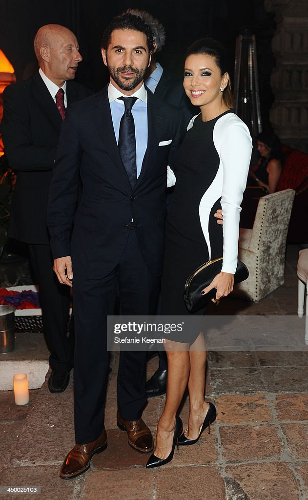 Guest and actress Eva Longoria attend Museo Jumex Opening welcome dinner at Casa De La Bola on November 15, 2013 in Mexico City, Mexico.