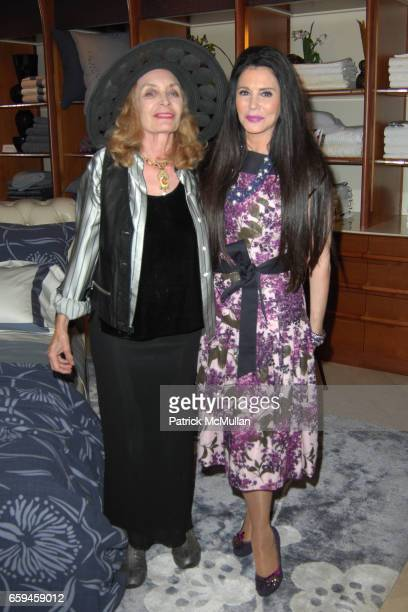 Guest and Barbara Lazaroff attend FRETTE Beverly Hills Designer Event at FRETTE on September 10 2009 in Beverly Hills California