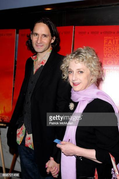 Guest and Carol Kane attend New York Premiere of Elizabeth Chai Yasarhelyi's YOUSSOU NDOUR I BRING WHAT I LOVE at Paris Theatre on June 4 2009 in New...