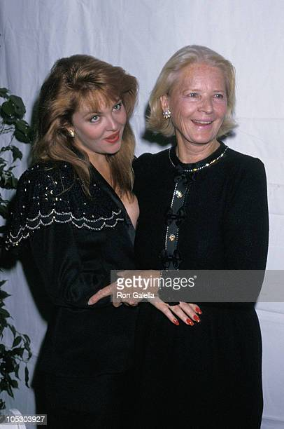 CZ Guest and Cornelia Guest during 'Fete De Famille III' Benefit For AIDS Care Center at Mortimer's Restaurant in New York City New York United States