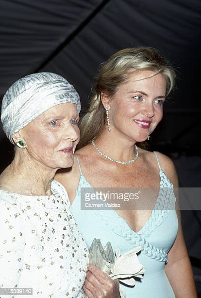CZ Guest and Cornelia Guest during 'Jacqueline Kennedy The White House Years' Costume Institute Gala at Metropolitan Museum of Art in New York City...