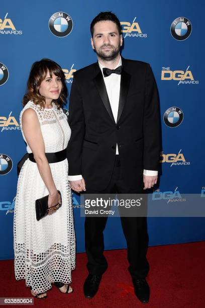 Guest and Dan Trachtenberg attends the 69th Annual Directors Guild Of America Awards Arrivals at The Beverly Hilton Hotel on February 4 2017 in...