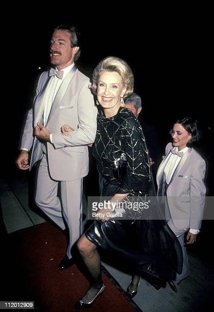 Guest and Dina Merrill during 'Rap Master Ronnie' Opening Night Performance at Village Gate in New York City New York United States