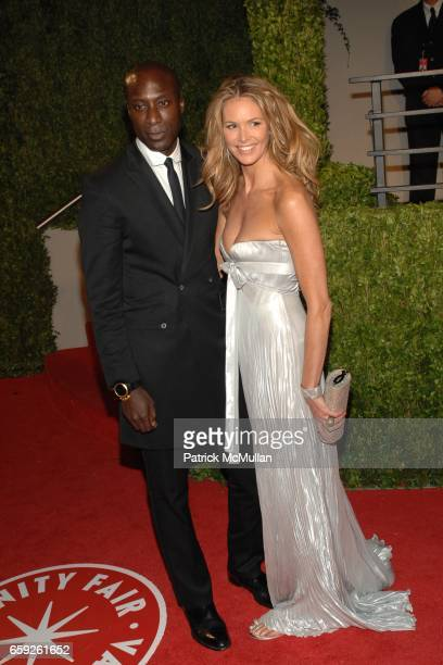 Guest and Elle McPherson attend Vanity Fair Oscar Party at Sunset Tower Hotel on February 22 2009 in Los Angeles California