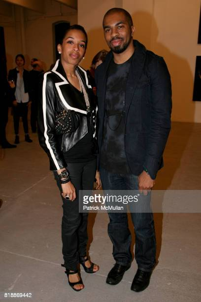 Guest and Guest attend 'The Transformation of ENRIQUE MIRON as El Diablo' by PAUL ROWLAND at 548 W 22nd St on April 29 2010 in New York