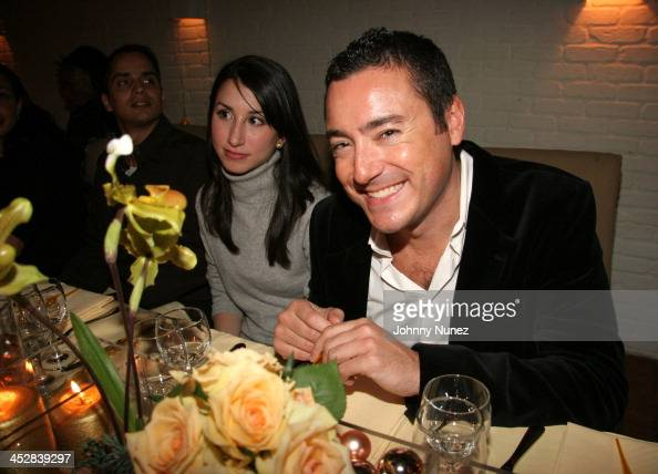 Guest and James Patrick during Naomi Campbell and Giuseppe Cipriani Holiday Party December 5 2005 at Cipriani in New York New York United States