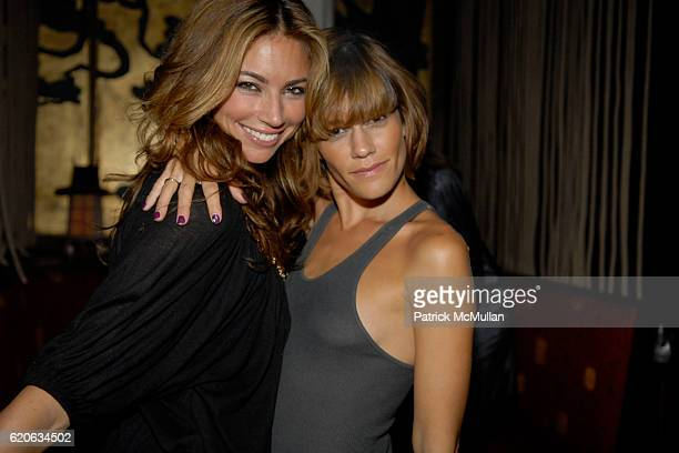 Guest and Jenne Lombardo attend NATASHA BEDINGFIELD Surprise Performance at Hiro Ballroom on September 7 2008 in New York City