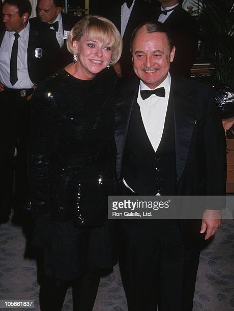 guest and John Hillerman during The 45th Annual Golden Globe Awards at Beverly Hilton Hotel in Beverly Hills California United States