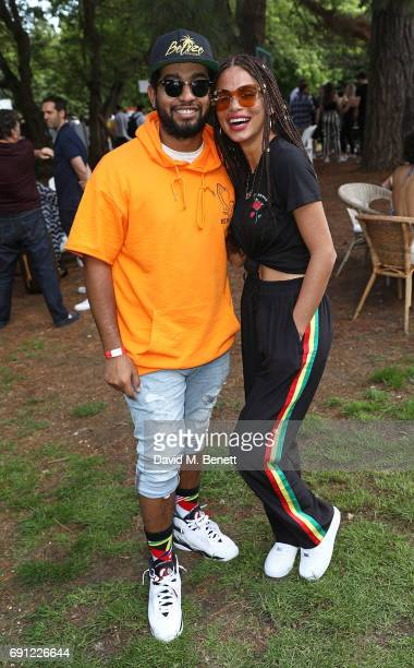 Guest and Joyjah attend Island Records' 'Island Life' on Osea Island on June 1 2017 in London England