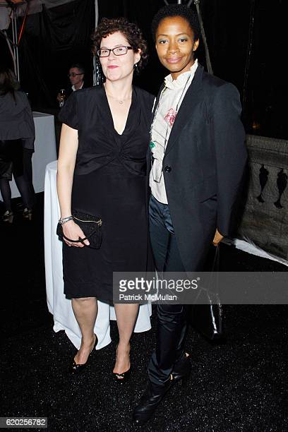Guest and Kara Walker attend DIA ART FOUNDATION Fall Gala 2008 at The Hispanic Society of America and The Church of the Intercession on November 7...