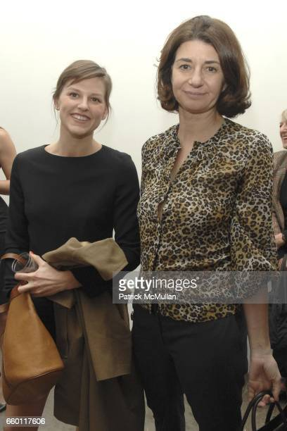 Guest and Karen Marta attend SHE Images of women by Wallace Berman and Richard Prince Opening at Michael Kohn Gallery on January 15 2009 in Beverley...