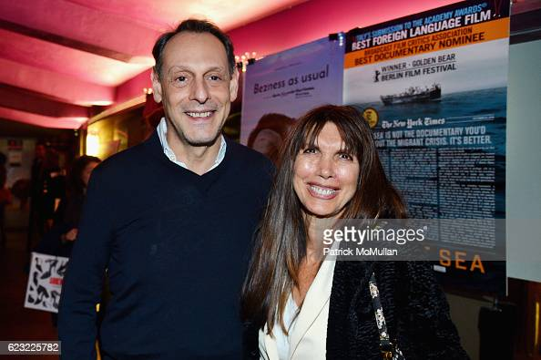 Guest and Myra Scheer attend the DOC NYC Premiere 'The Incomparable Rose Hartman' at IFC Center on November 13 2016 in New York City