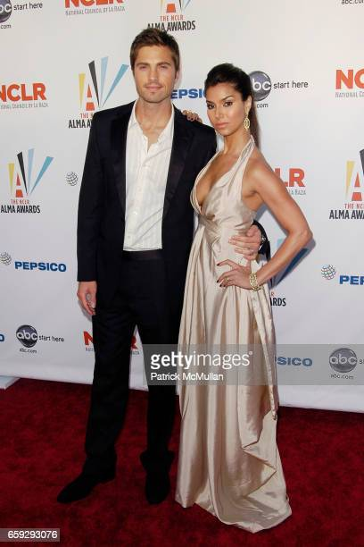 Guest and Roselyn Sanchez attend 2009 ALMA AWARDS at Royce Hall on September 17 2009