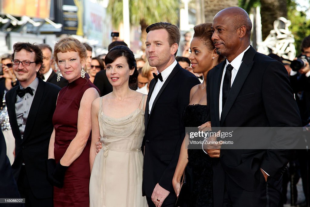 Guest, Andrea Arnold, Eve Mavrakis, Ewan McGregor, Raoul Peck and guest attend the 'On The Road' Premiere during the 65th Annual Cannes Film Festival at Palais des Festivals on May 23, 2012 in Cannes, France.