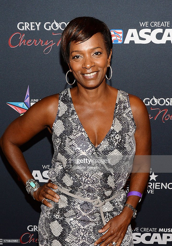 A guest arrives at the Grey Goose Cherry Noir Flavored Vodka VIP after party during the 2013 BET Experience at The Conga Room at L.A. Live on June 28, 2013 in Los Angeles, California.