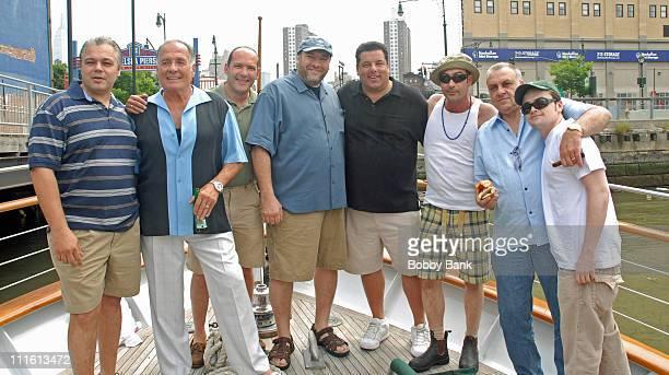 Guest Arthur Nascarella Frank Giordano James Gandolfini Steve Schirripa John Ventimiglia Vincent Curatola and Robert Iler **EXCLUSIVE**