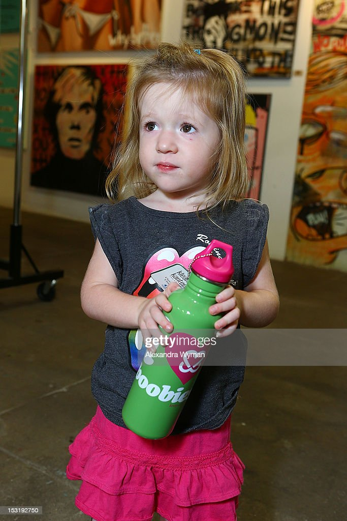 Guest at 'American Rag And Lab ART Present 'Keep Breast,'' an Americana themed art exhibition for Breast Cancer Prevention Month at LAB ART on September 29, 2012 in Los Angeles, California.