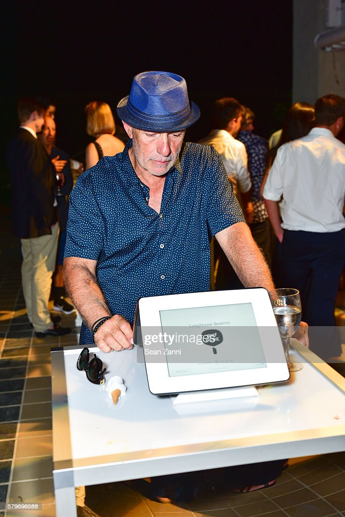 Guest at LongHouse Reserve 2016 Jubilee Year Summer Benefit, Serious Moonlight at LongHouse Reserve on July 23, 2016 in East Hampton, NY.