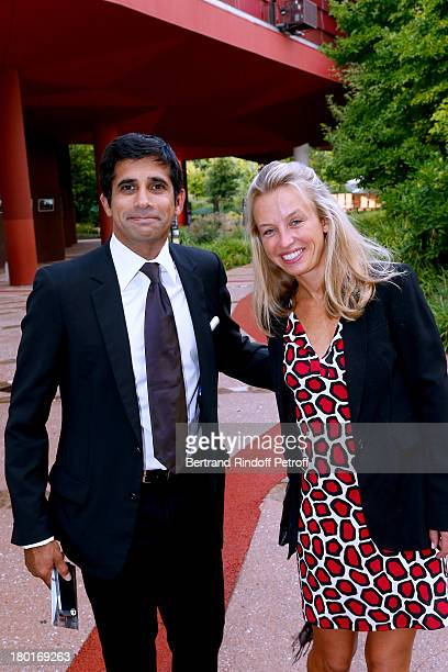 Guest attend 'Friends of Quai Branly Museum Society' dinner party at Musee du Quai Branly on September 9 2013 in Paris France