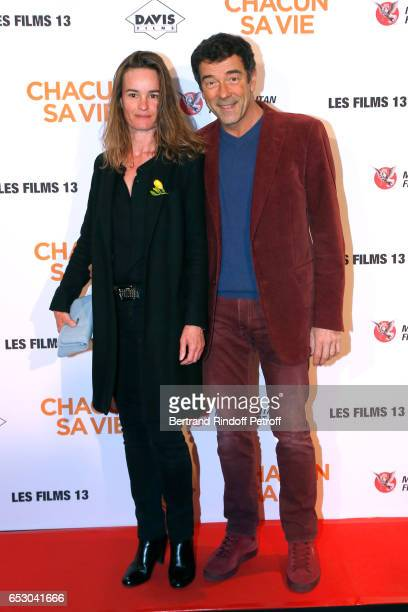 Guest attend the 'Chacun sa vie' Paris Premiere at Cinema UGC Normandie on March 13 2017 in Paris France