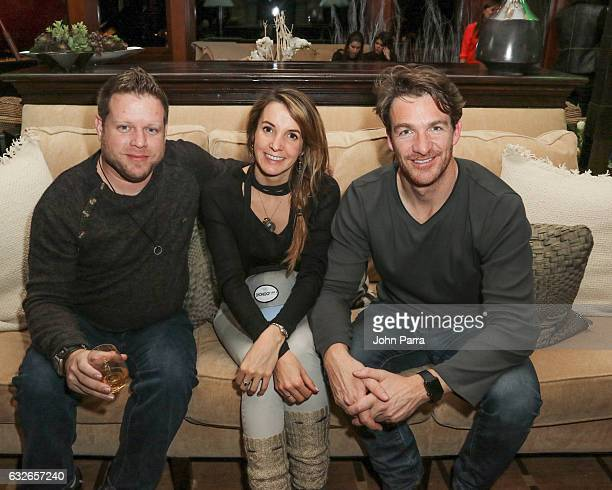 Guest attend the GOOGLE HOME Super Crispy Films celebrate 'Sidney Hall' at the home of Barry Amy Baker on January 24 2017 in Park City Utah