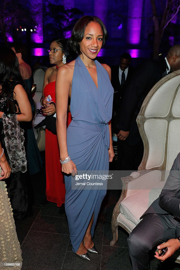 A guest attend the Inaugural Ball hosted by BET Networks at Smithsonian American Art Museum & National Portrait Gallery on January 21, 2013 in Washington, DC.