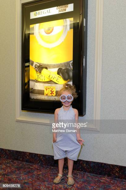 A guest attends a screening of Despicable Me 3 hosted by Gwyneth Paltrow and goop at Southampton Movie Theatre on July 5 2017 in Southampton New York