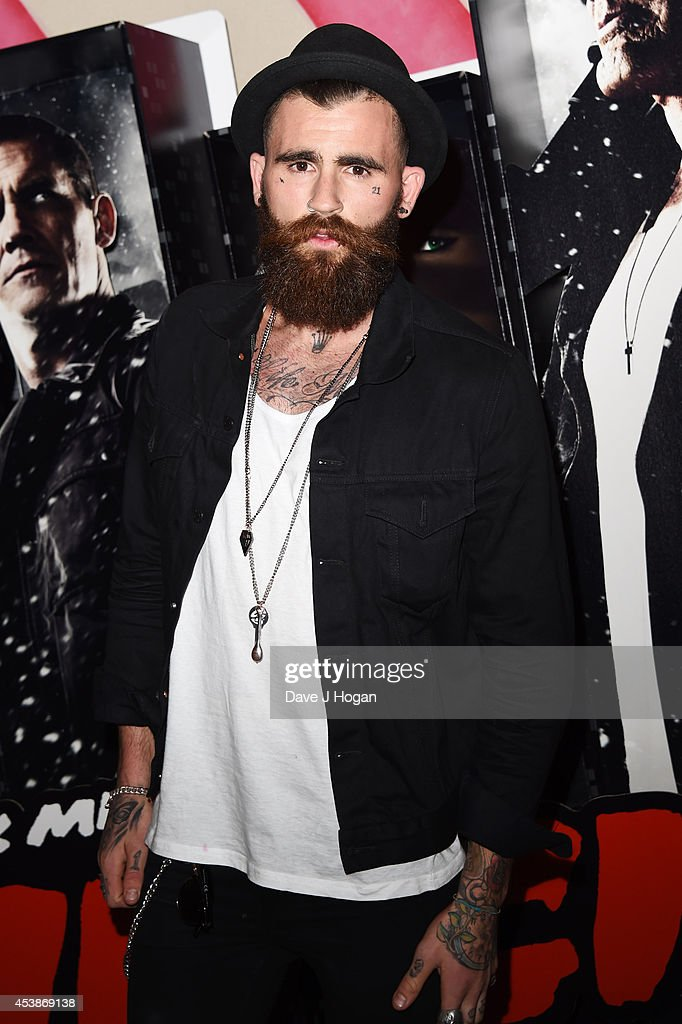 A guest attends a VIP screening of 'Sin City 2' at Ham Yard Hotel on August 20, 2014 in London, England.