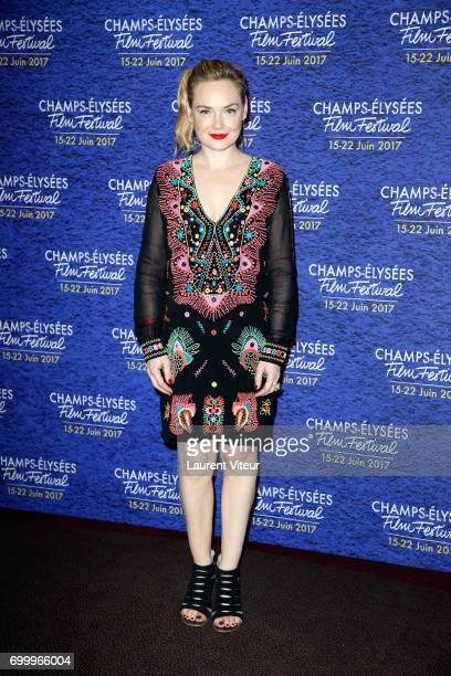 Guest attends Closing Ceremony of 6th Champs Elysees Film Festival on June 22 2017 in Paris France