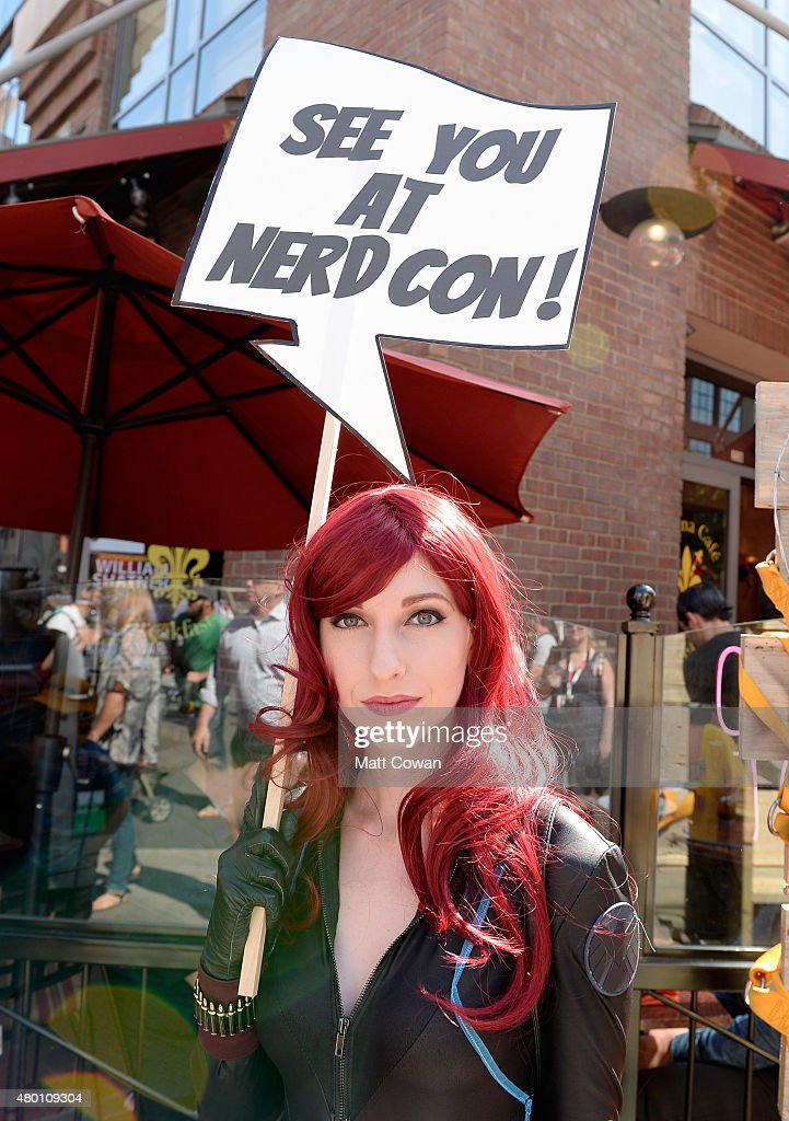 Guest attends ComicCon International 2015 on July 9 2015 in San Diego California