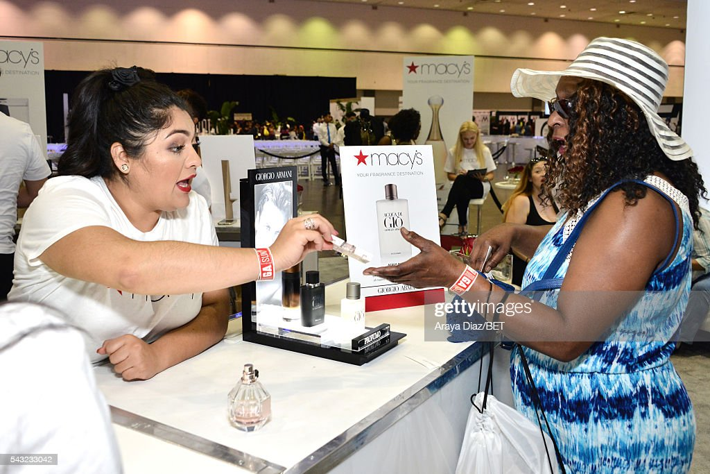 Guest attends Fashion And Beauty @BETX presented by Progressive, Covergirl, Strength of Nature, Korbel and Macy's during the 2016 BET Experience on June 26, 2016 in Los Angeles, California.