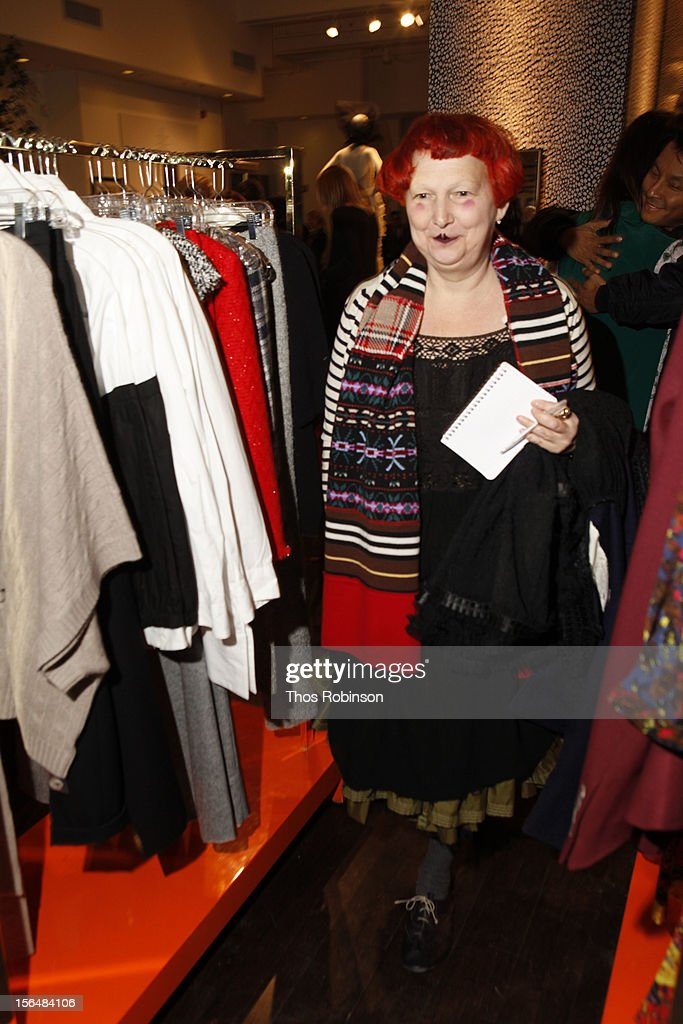 Guest attends Fashion For Sandy Relief at Metropolitan Pavilion on November 15, 2012 in New York City.