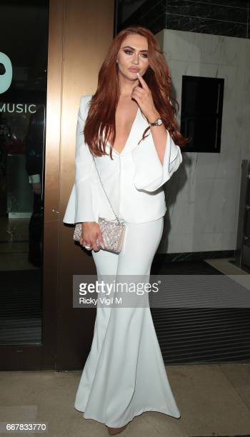 Guest attends James Ingham's JogOn to Cancer part 5 at Kensington Roof Gardens on April 12 2017 in London England