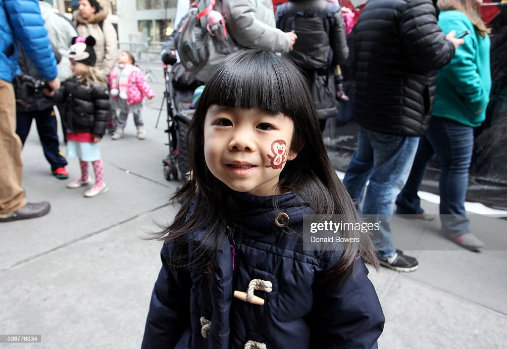 Guest attends Madison Street To Madison Avenue Lunar New Year Celebration on February 6, 2016 in New York City.