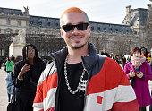 Off-White : Outside Arrivals - Paris Fashion Week -...
