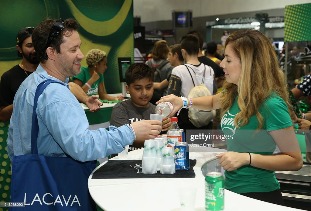 Guest attends SneakerCon presented by Sprite, Rush Card, & FDA during the 2016 BET Experience at Los Angeles Convention Center on June 26, 2016 in Los Angeles, California.